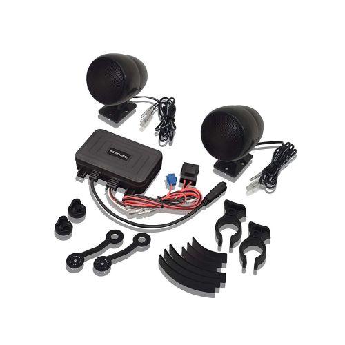Big Bike Parts Bluetooth Sound System Complete with Speakers - 13-252BTBK