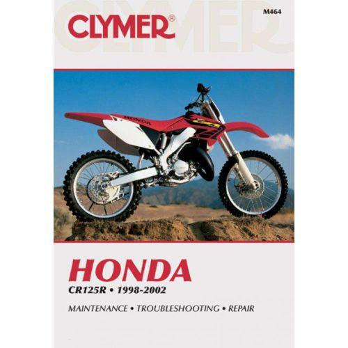 Clymer Repair Manual - Honda - CR125R - M464