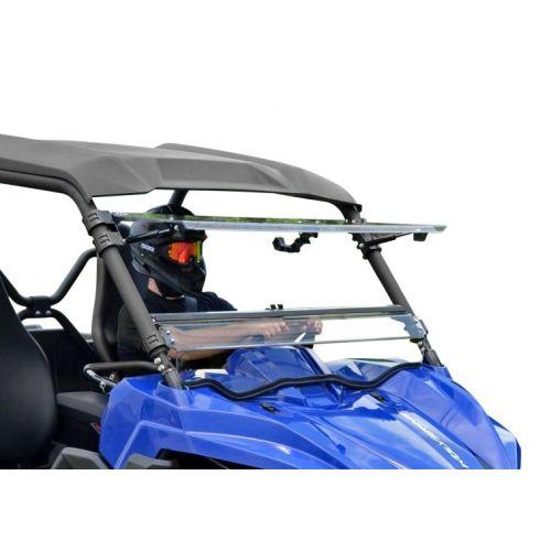 Super ATV Flip Windshield for Yamaha - FWSYWV70