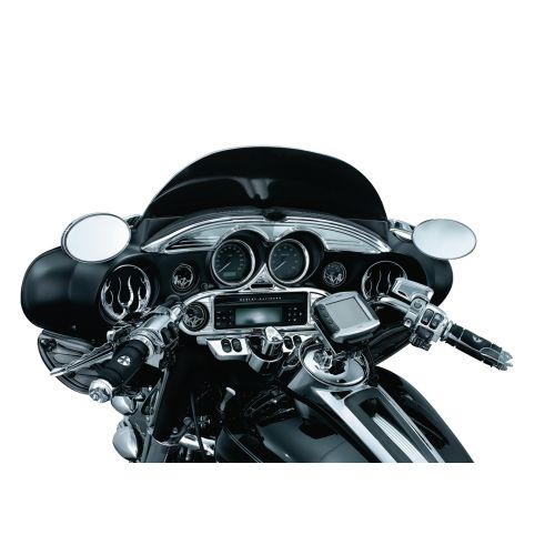 Kuryakyn Flame Speaker Grills for Harley-Davidson - 3788