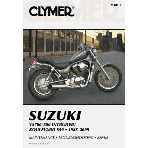 Clymer Repair Manual - Suzuki - VS700-800 Intruder/Boulevard S50 - M481-6