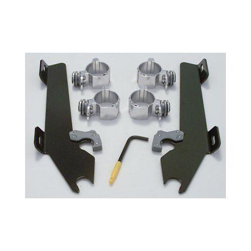 Memphis Shades Black Trigger-Lock Mount Kit - MEM8994