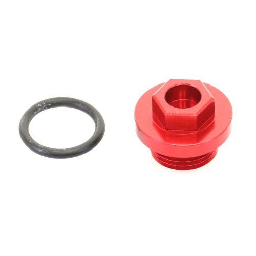 Accel Oil Filler Plug - OFP-04 Red