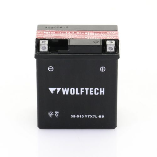 Wolftech Battery - YTX7L-BS