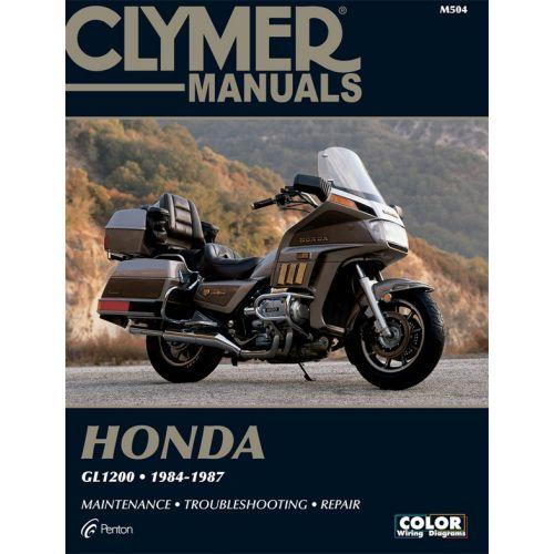 Clymer Repair Manual - Honda - GL1200 - M504