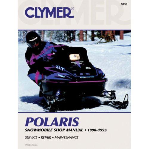 Clymer Manual for Polaris - S833