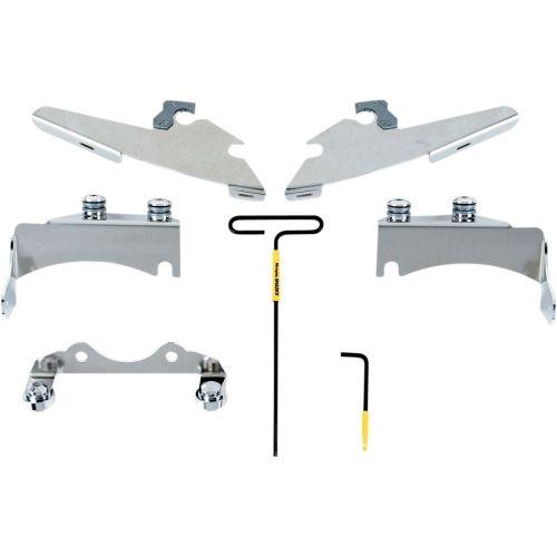 Memphis Shades Chrome Trigger-Lock Mount Kit - MEM8962