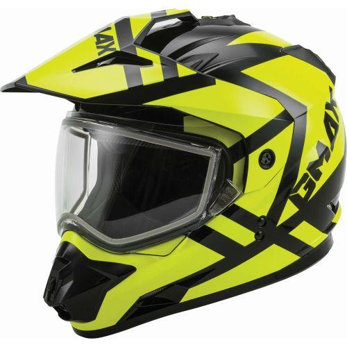 Gmax GM11D Double Lens Trapper Snow Helmet