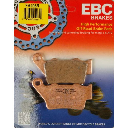 EBC Brake Pad Set  - FA208R