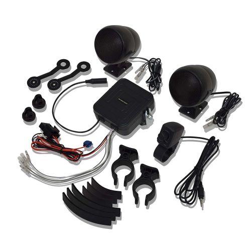 Big Bike Parts Sound System Black - 13-250BK