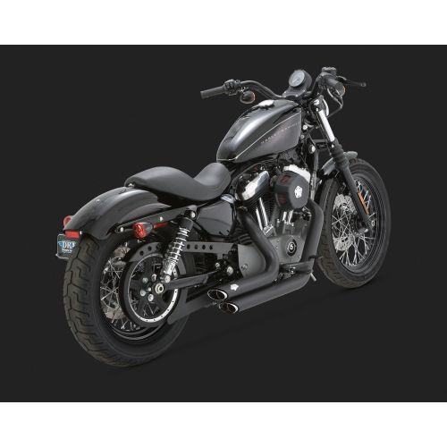 Vance & Hines Shortshots Staggered Exhaust for Sportster - 47219