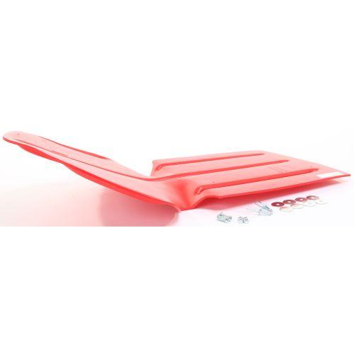 Sportech Holeshot Skid Plate Red - 20157011