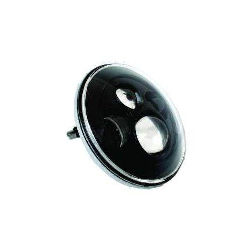 """Big Bike Parts 7"""" LED Headlight Kit with Black Background"""