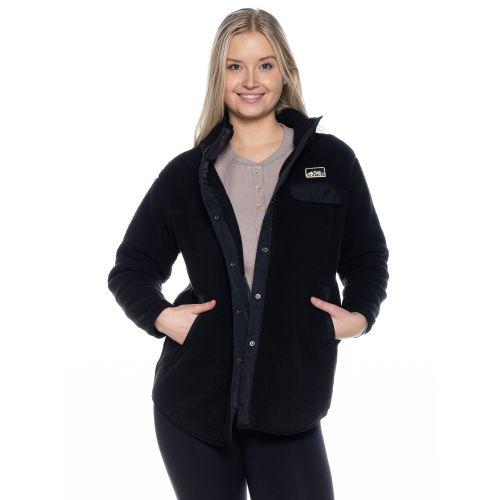 TEAMLTD Women's Teddy Snap Jacket