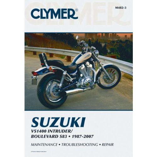 Clymer Repair Manual - Suzuki - VS1400 Intruder/Boulevard S83 - M482-3