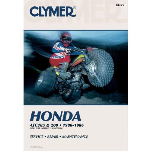 Clymer Repair Manual - Honda - ATC 185- 200 - M326