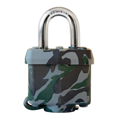 Master Lock With Plastic Cover - 317DSPT