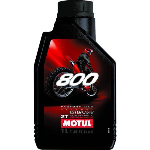 Motul 800 Factory Line 2T Off Road Oil