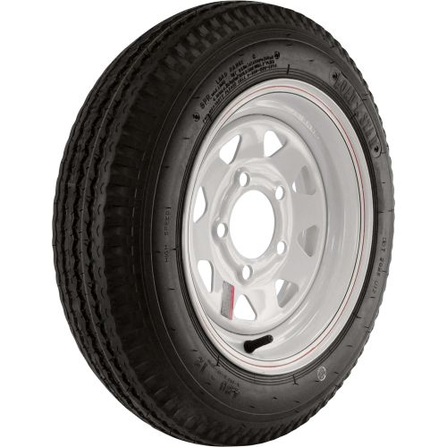 Loadstar Trailer Tire & Rim Kit 480-12, 5 Hole