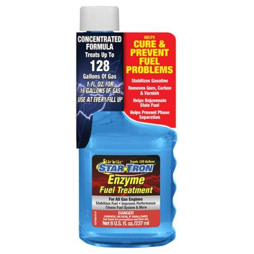 Star Brite Star Tron Enzyme Fuel Treatment - Concentrated Gas Formula - 093008PC