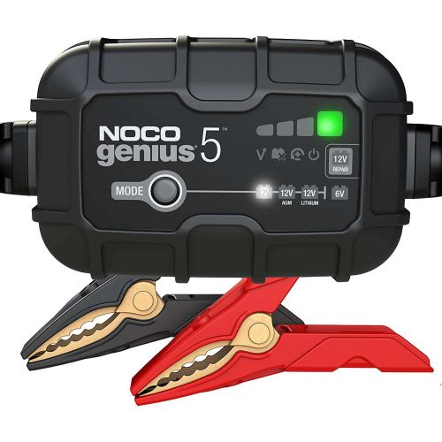 NOCO Genius 5-Amp Smart Battery Charger