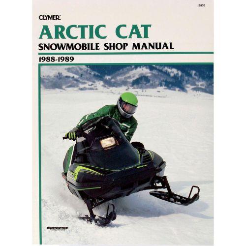 Clymer  Manual Arctic Cat - S835