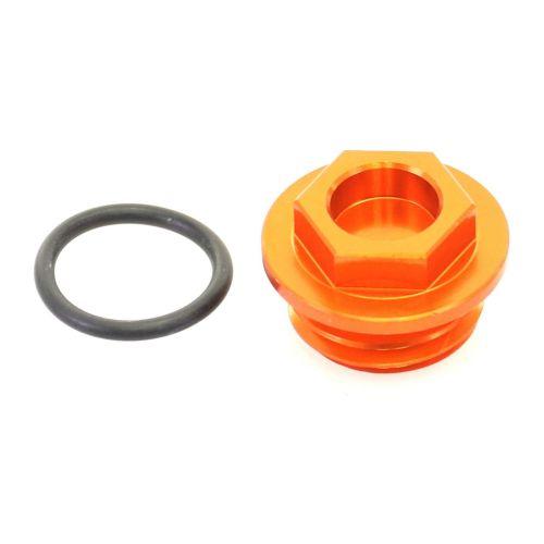 Accel Oil Filler Plug - OFP-05 Orange