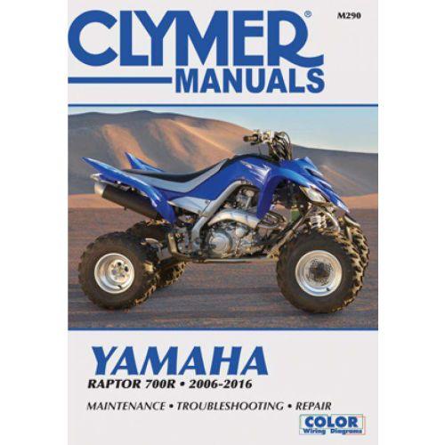 Clymer Repair Manual - Yamaha -Raptor 700R -M282-2