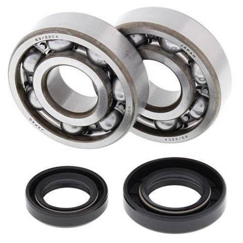 All Balls Crank Bearing & Seal for Honda - 24-1002