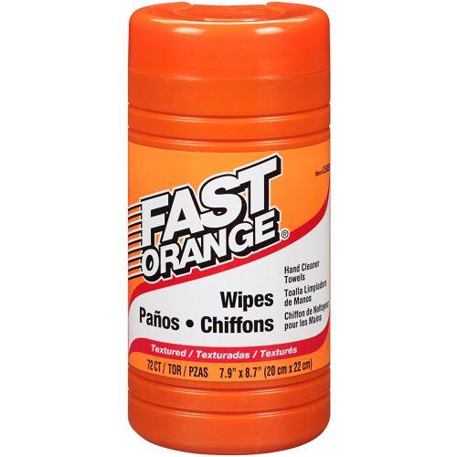 Permatex® Fast Orange® Wipes, 72 pack
