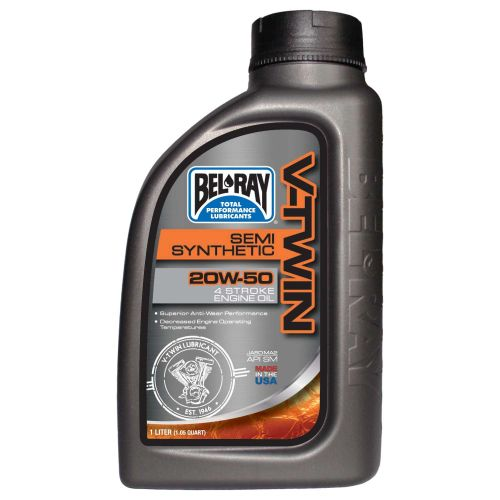 Bel-Ray V-Twin Semi-Synthetic Engine Oil 20W50