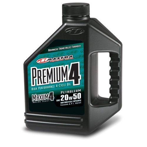 Maxima Premium 4T Oil 20W50