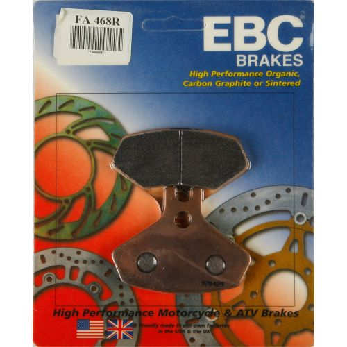 EBC R-Series Long-Life Sintered Brake Pads - FA468R