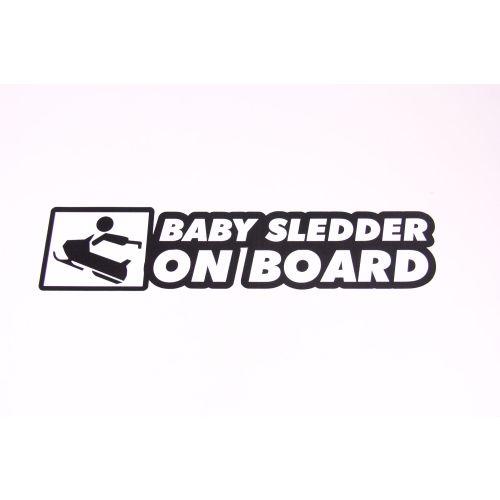 Royal Distributing Sticker Baby Sledder On Board - 12-1124