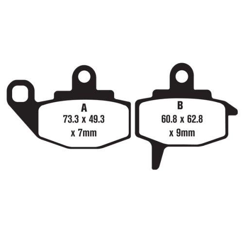 Bronco Brake Pad Set - FA130