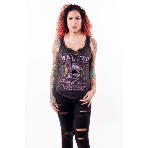 Lethal Angel Women's Most Wanted Tank