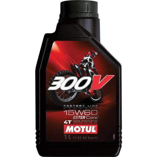 Motul 300V 4T Off Road Ester Synthetic Oil 15W60