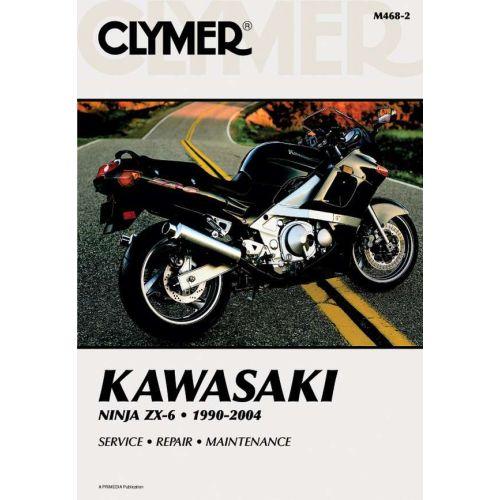 Clymer Repair Manual - Kawasaki - Ninja ZX-6 - M468-2