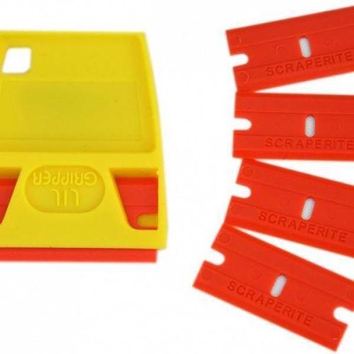 Hardline Scraperite Plastic Razorblades - SR5GPOE