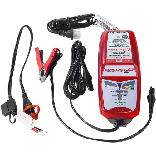 Ballistic Performance Diagnostic Battery Charger and Tester