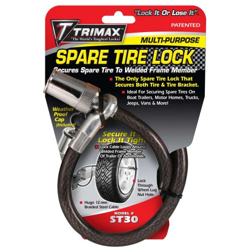 Trimax Spare Tire Cable Lock - ST30