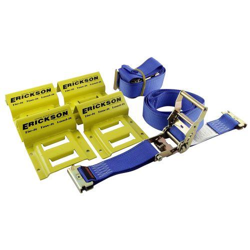 Erickson Wheel Chock With Strap Kit - 9160
