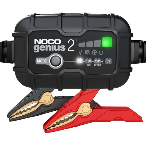 NOCO Genius 2-Amp Smart Battery Charger