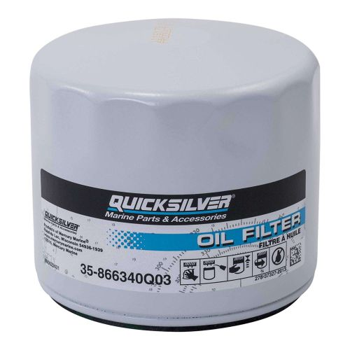 Quicksilver 4-Cycle Oil Filter OE# 866340Q03