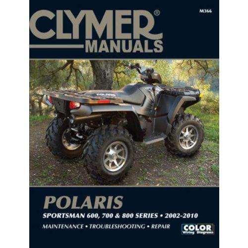 Clymer Repair Manual - Polaris - Sportsman 600/700/800 - M366