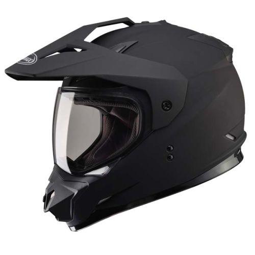 Gmax GM11 Vertical Dual Sport Double Lens Helmet