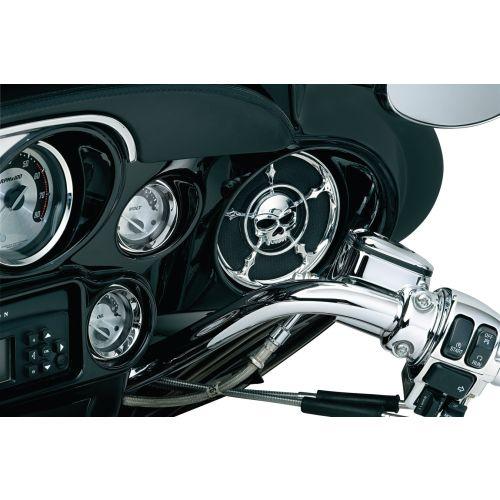 Kuryakyn Zombie™ Speaker Grills for Harley-Davidson - 3787