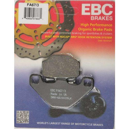 EBC Brake Pad Set  - FA67/3