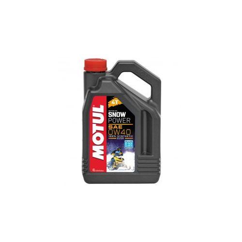 Motul Snow Power 4T Synthetic Oil 0W40