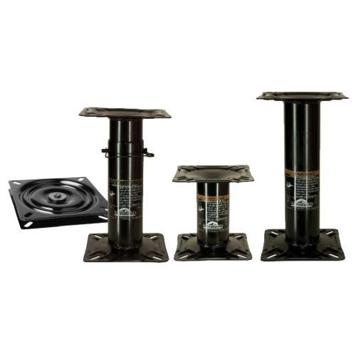 """Attwood Fixed Mount Boat Seat Pedestal 7""""  - 90720"""